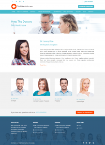 Divi Healthcare Theme All Doctors