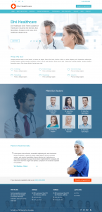 Divi Healthcare Child Theme